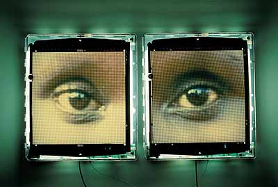 Alfredo Jaar . The Eyes of Gutete Emerita, 1996