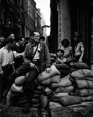 La libération de Paris, 1944
