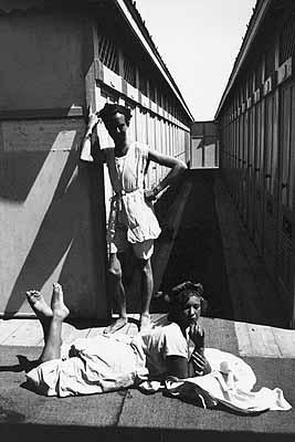 André Pieyre de Mandiargues et Léonor Fini. Trieste, Italie, 1933