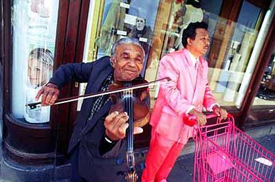 Manit Sriwanichpoom . Pink Man on European Tour