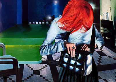 Luisa Raffaelli . Concerning her life 2, 2003 fotopittura digitale, stampa lambda 120 x 170 cm ed. 1/3