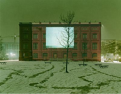 Christian von Steffelin>Schinkelsche Bauakademie 2005< aus der Serie: Bühne Berlin (1995–2005)Preisträger Kodak FOTOSOMMER Award