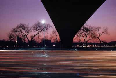 Lake Shore Drive,  Chicago, USA 1953© WernerBischofEstate / Magnum Photos