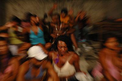 Dias & Riedweg Funk Staden, 2007 VideostillCourtesy Galeria Vermelho, São Paulo; Galeria Filomena Soares, Lissabon© Dias & Riedweg, 2007
