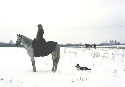 Anastasia Khoroshilova Russkie #47, 2007 c-print on alu, framed, ed.6 100 x 125 cm