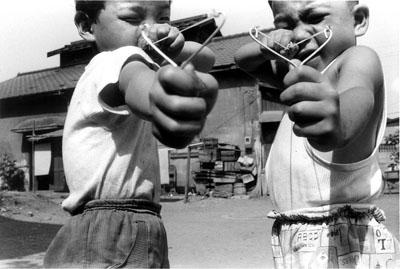 Satchin and His Brother Mabo, 1963© Nobuyoshi Araki courtesy Taka Ishii (Tokyo)/ Michael Hoppen Contemporary