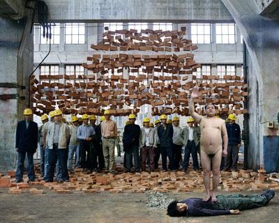 GAO BROTHERS 'Goodbye Tiananmen' 2007120x150cm, ed.10