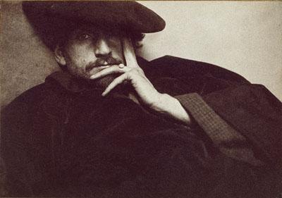 Solitude - F. Holland Day. 1901 Courtesy Kunsthaus Zurich; Marc Rich Collection © Joanna T. Steichen