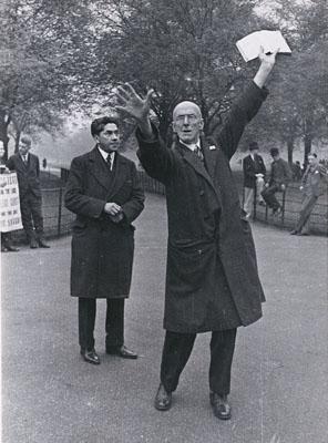 Alfred Eisenstaedt: London's Hyde Park, um 1928 © Münchner Stadtmuseum © Alfred Eisenstaedt