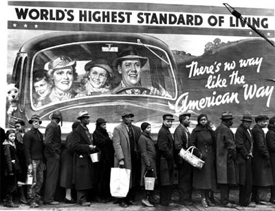 """""""At the time of the Louisville flood"""", 1937, Margaret Bourke-White, © Time Inc."""