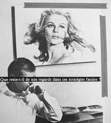 Astrid KleinQue reste-t-il de nos regards..., 1980, Detail Collage81 x 95,5 cm