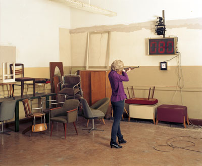 Sylvia Ballhause - Shooting myself 2008