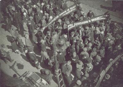Alexander Rodchenko, manifestation de rue, 1928