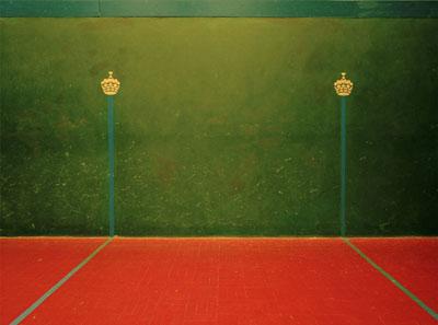 Elliott Wilcox, Real Tennis 04, 2008 © Elliott Wilcox