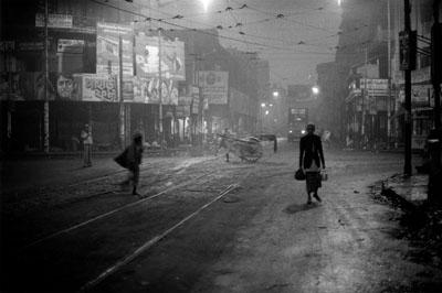 Barbara Klemm, Kalkutta, Indien, 1982