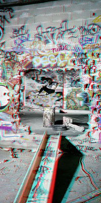 Skateboarding.3D