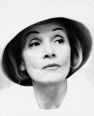 Liselotte Strelow: Marlene Dietrich, 1960, Silbergelatine-Abzug, LVR-LandesMuseum Bonn, © by Gesellschaft Photo Archiv e.V. Köln, Bonn/ VG Bild-Kunst, Bonn 2010