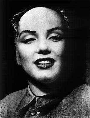 Philippe Halsmann, Mao Marilyn, 1952, Sammlung Gaby und Wilhelm Schürmann