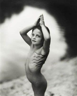 "Sally Mann, Virginia at 6, , from the series ""Immediate Family"", 1991 , © Sally Mann. Courtesy Gagosian Gallery, New York"