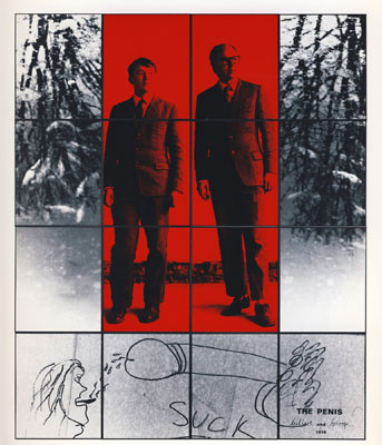 "Gilbert & George ""The Penis"", 1978, Bildrechte: ARTE F"