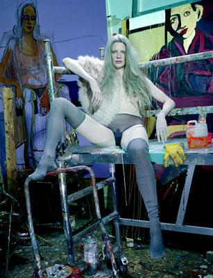 KRISTEN - As Seen by Miles Aldridge and Chantal Joffe