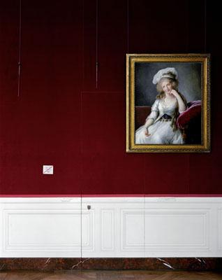 ROBERT POLIDORILouise-Marie-Adélaïde de Bourbon-Penthièvre Duchesse d'Orléans by Élisabeth-Louise Vigée-Le Brun, 1789Chambre du capitaine des gardes Chateau de Versailles, 2007
