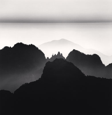 Huangshan Mountains, Study 2, Anhui, China, 2008 © Michael Kenna