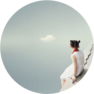 Liu XiaoFang, The cloud. From the series « I remember », 2008, Courtesy 798 Photo Gallery, Beijing