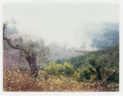 Andrey Tarkovsky. Near Bagno Vignoni. 1979-1982