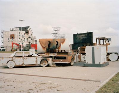 Schiphol Airport, Fire Training Area, 2010 © Dana Lixenberg