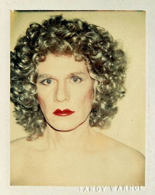 Andy Warhol: Self-Portrait (in Drag), 1981, ©The Andy Warhol Foundation for the Visual Arts, New York