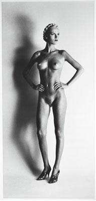 Helmut Newton, Big Nude I, Paris, 1980, © Helmut Newton Foundation, courtesy of Hamiltons Gallery