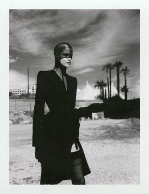 Helmut Newton, Thierry MuglerMonte Carlo 1998, Polaroid© Helmut Newton Estate