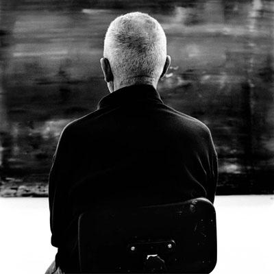 Gerhard Richter, Cologne 2010 © Anton Corbijn