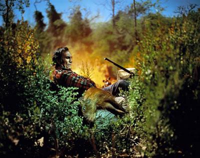The Hunter, 2010, © Alejandro Chaskielberg. Digital C-type print on Kodak Endura paper