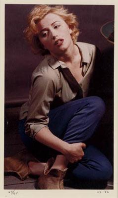 "Cindy Sherman, ""As Marilyn Monroe."" Chromogenic print, 1982.Estimate:$8,000-12,000"