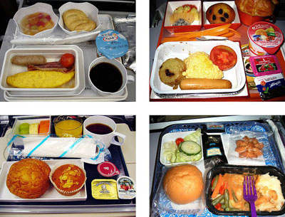 "Joachim Schmid: ""Airline Meals"" - aus: Other People´s Photographs"