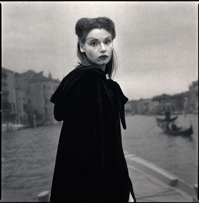 Hiroshi WatanabeViviana Ceppa as InnamorataFrom the series Archival pigment printVenice, 2010Archival pigment print32 x 32 in / 80 x 80 cmCourtesy of AD Galerie1/3 + 2AP