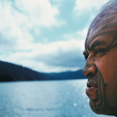 Isaac JulienMai ra ano: Kia whakamana i a Tuhoe / Long Ago: Homage to the Tuhoe - True South series2008Lightbox120 x 120 x 7 cm© Isaac Julien