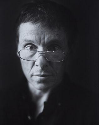 Portrait of Jan Saudek taken by Philippe Vermès, 1992