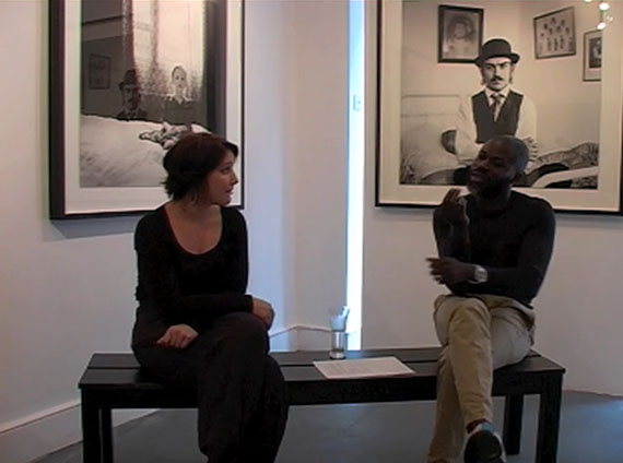 Video: in conversation with Nelli Palomäki at Next Level Projects, August 2011