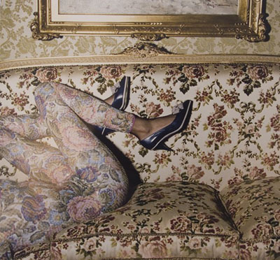 © Guy Bourdin - British Vogue, October, 1976.  Copyright Estate of Guy Bourdin.  Reproduced by permission.  Courtesy of the Michael Hoppen Gallery.