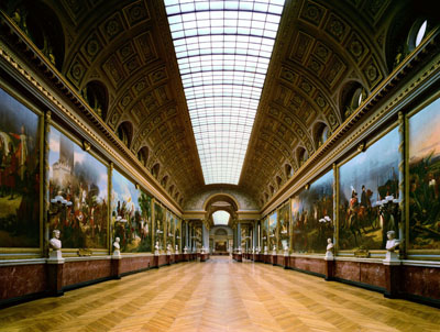 © ROBERT POLIDORI, GALLERY OF BATTLES, CHATEAU DE VERSAILLES, 1985