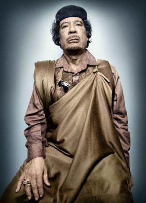 Muammar al-Gaddafi, © Platon