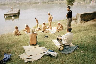 Albanian Bathers, 2006 © Tom Craig, courtesy Flaere Gallery