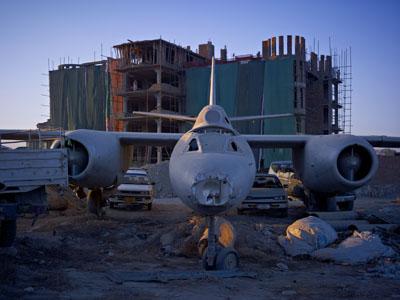 Abandoned Bomber © Simon Norfolk courtesy Mc Bride Fine Art & Services