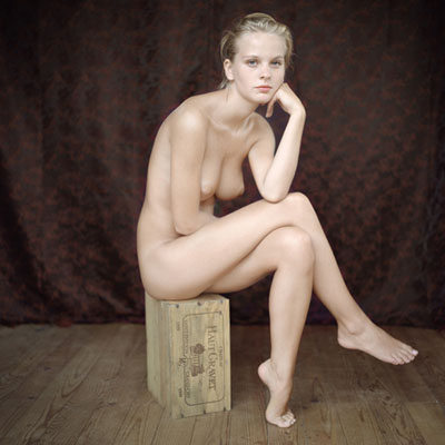 Mona Kuhn, Portrait 55, from the Bordeaux Series, 2011 48 x 48 inch Chromogenic Dye Coupler Print mounted to dibond Signed, titled, dated and numbered on artist label verso Edition of 3Courtesy Jackson Fine Art