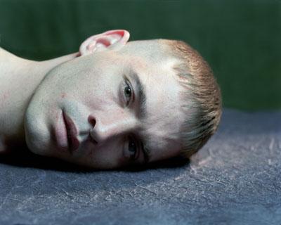 """© Suzanne Opton, Soldier: Crumm - 294 Days in Afghanistan  ©2005  aus der Serie """" Soldier""""Courtesy Darmstädter Tage der Fotografie"""