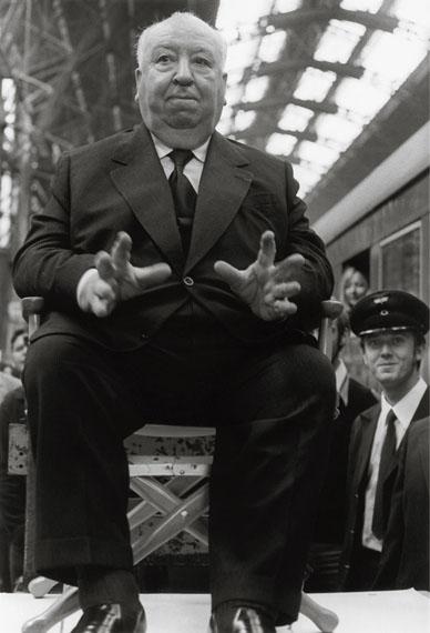 Alfred Hitchcock, Frankfurt am Main, 1972, © Barbara Klemm