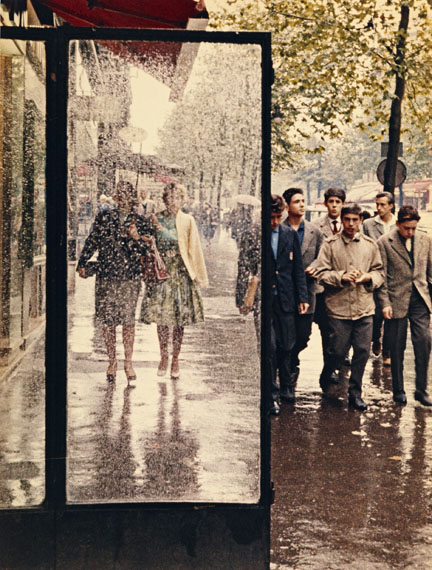 © Peter Cornelius-d'Hargues: Boulevard Saint-Michel, Paris, 1956-1959